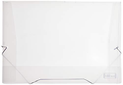 Pasta Aba Elástico Polipropileno 0,35mm Ofício Transparente,Tilibra