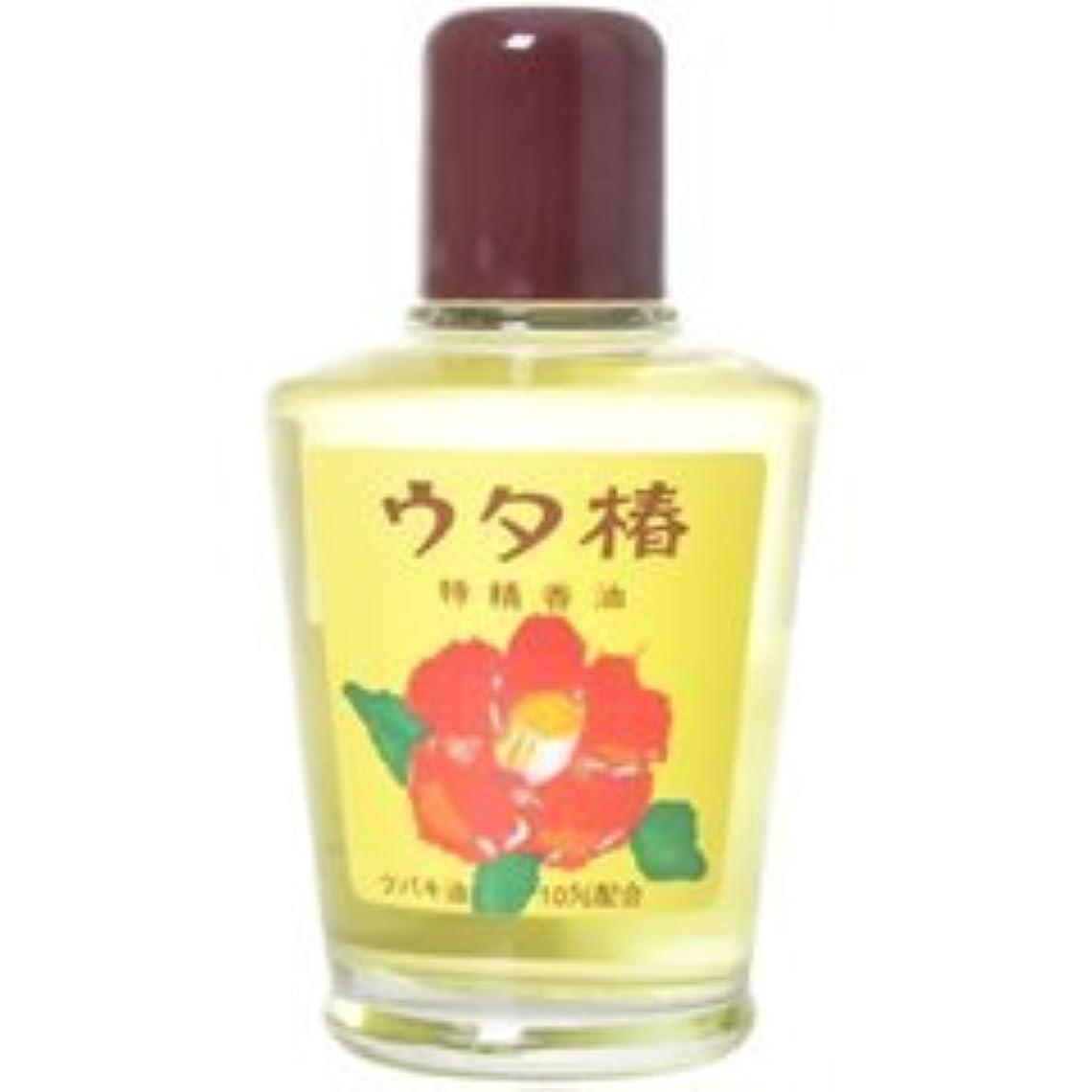 ためらう液化する帽子【黒ばら本舗】うた椿香油 黄 95ml