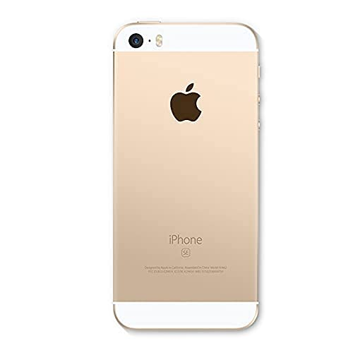 Apple iPhone SE, 16GB Factory Unlocked - Gold - 1st Gen 2016 (Renewed)