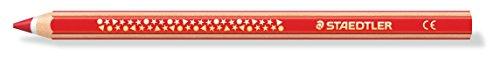 Staedtler 1287-9 Dicki kleurpotlood super jumbo, zeskantvorm, 12 stuks in kartonnen doos, zwart