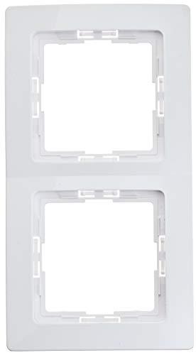 Kopp 402502018 Profipack 2-fach Rahmen Paris, arktis, 5 x 2
