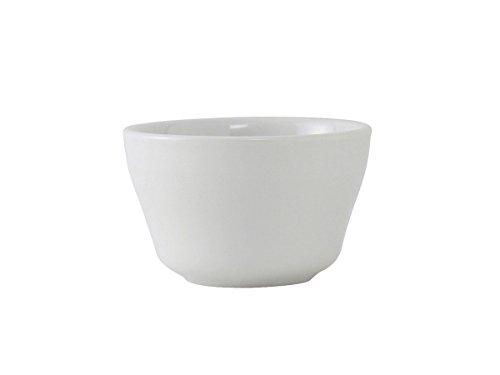 """Tuxton ALB-0752 Vitrified China Alaska/Colorado Accessories Bouillon, 8 oz, 4"""", Porcelain White (Pack of 36),"""
