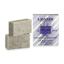 L'OCCITANE Lavender Rough-Cut Bar Soap 2pc (s) – Soaps (Bar Soap, Rectangular, Responsible from The Root Our Lavender Essential Oil Comes Directly from Farmers cooperatives, 100 g, 2 pc (s))