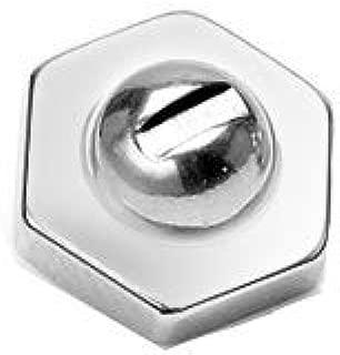 Amelia Fashion 14 Gauge Hexagon Screw Nut Dermal Anchor Top Internally Threaded 316L Surgical Steel