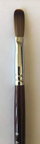 EX Crimped Kolinsky Arcylic Nail Brush 2020 Variant (Crimped 8)