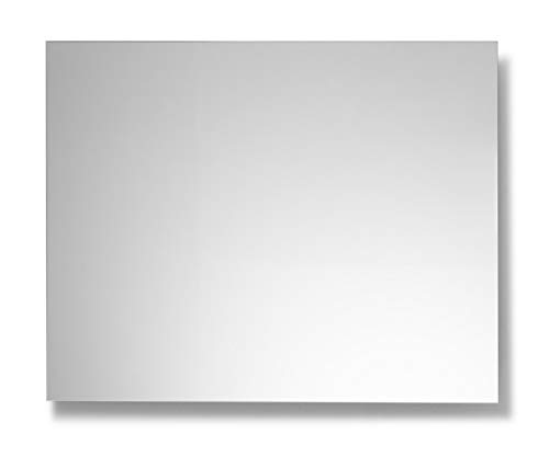 Espejo de Baño Basiq Liso de 80x100 Horizontal con lámina antivaho con colgadores incluidos de fácil instalación