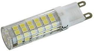 Bombilla Led con casquillo G9 (18x61 mm, Luz cálida 3200K)