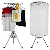 Deziine Electric Portable Folding Clothes Dryer - Laundry Drying Rack Cum Room Heater with Adjustable Timers