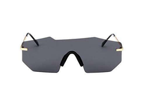 Gafas De Sol Mujeres Moda Unisex Polarized Sunglasses Hombres Mujeres Diseñador De Marca Retro Rimless Espejo Sin Marco Conducción Conducción Gafas