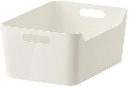 Ikea VARIERA Box weiß Hochglanz 34x24 cm 2 Stück