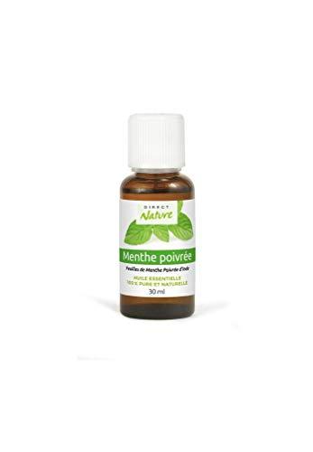 Huile essentielle menthe poivrée 30ml 100% pure et naturelle