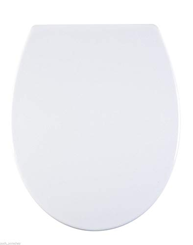 45X 36 X 5 cm Gris AQUALONA Products Abattant de Toilettes Familial