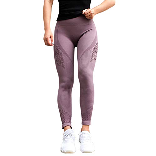 Metermall Fashion For Women Seamless Quick Drying Yoga Pants Super Stretchy Gym Tights High Waist Sport Leggings Running Pants