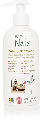 Eco by Naty, baby douchegel 200 ml fles