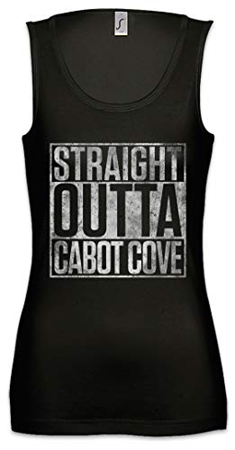 Urban Backwoods Straight Outta Cabot Cove Mujer Camiseta Sin Mangas Women Tank Top
