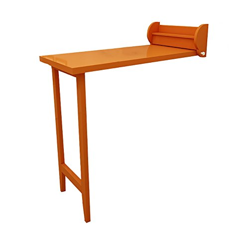 NYDZ Wandmontage Drop-leaf Table Solid Wood Wall Folding Table Keuken Eettafel Bureau Wasserij Brackets Houten Bar Partitie Cabinet,101.8 * 51.8 * 101.8 Cm.