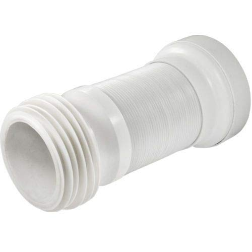 Conector flexible para inodoro WC Waste Flexi Pan para tubería estándar de 4 pulgadas PSW TRADE SUPPLIERS LTD
