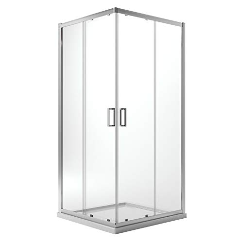 Idralite Box Mampara de Ducha Rectangular 70x100 H200 Transparente 6mm Mod. Ready