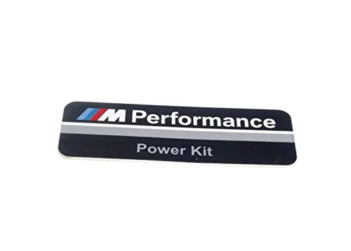 Originele BMW M Performance aluminium sticker PowerKit 3 serie F30 / F30 LCI / F31 / F31 LCI