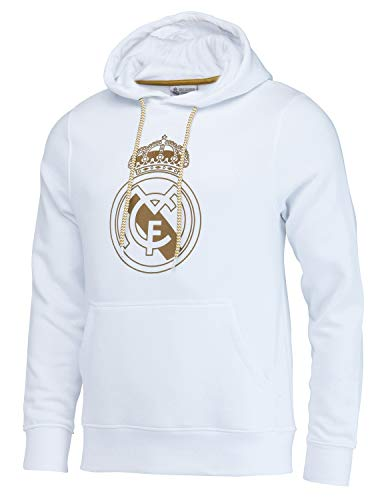 Real Madrid capuchonlashirt, officiële collectie - man