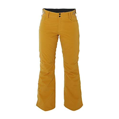 Brunotti skibroek snowboardbroek yellowlegs dames snowpants geel winddicht