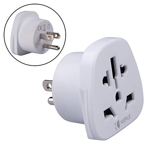 US USA, Japan Japón Adapter Plug Viaje Tipo B to a UK Inglés, Australia, EU Europe European, China, Spain, Swiss, Japan, Canada to American Adaptador Universal Adaptor Enchufe Internacional 3 Pin