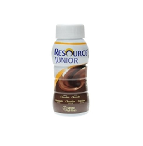 RESOURCE JUNIOR FIBRA CHOCOLATE 24 BOTELLA