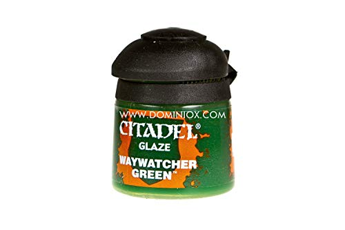 Games Workshop Glaze Waywatcher Green - Pintura acrílica (Verde, Cazuela, Waywatcher Green, Metal, De plástico, 12 ml)