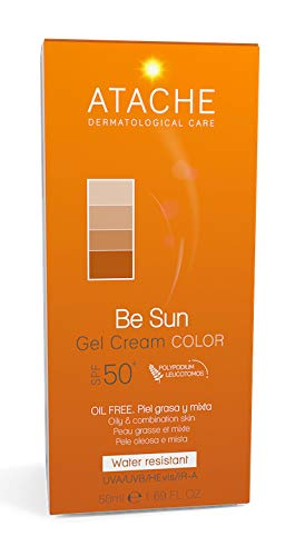 Actibios Be Sun Gel-Crema Color Spf 50+ 50Ml. 1 Unidad 500 g