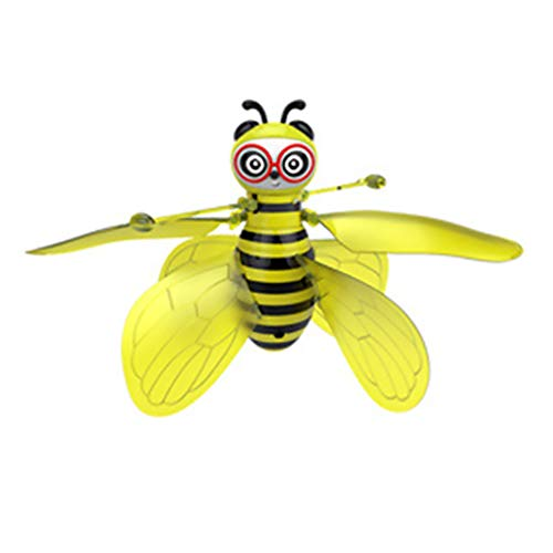 Floridivy Insect speelgoed rc infrarood Inductie Drone helikopter LED Light Hand-bestuurbare vliegende Kids Toy