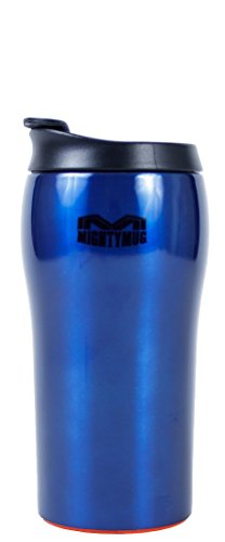 Mighty Mug Taza Termo, Acero Inoxidable, Azul (Blue), 7 cm