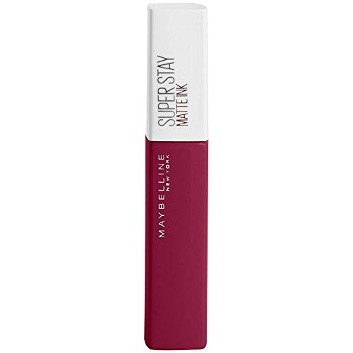 Maybelline New York - Superstay Matte Ink, Pintalabios Mate de Larga Duración, Tono 115 Founder