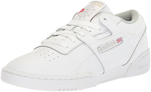 Reebok Heren Low Workout, laag, Int-wit/grijs
