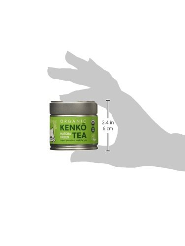 KENKO Matcha Green Tea Powder [USDA Organic] Ceremonial Grade - Japanese, Green, 30g (1oz)