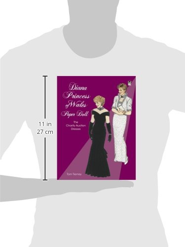 Diana, Princess of Wales, Paper Doll: The Charity Auction Dresses (Dover Royal Paper Dolls)