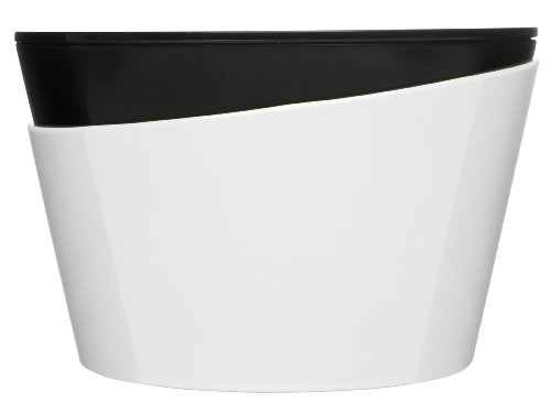Sagaform 5016034 All-in-one Fresh Multi Bowl/Colander and Lid-Chopping Board, White