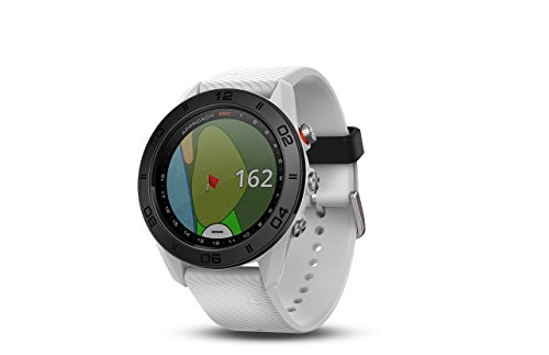 Garmin Approach S60, Premium GPS Golf Watch with Touchscreen Display and Full Color CourseView Mapping, White (Renewed)