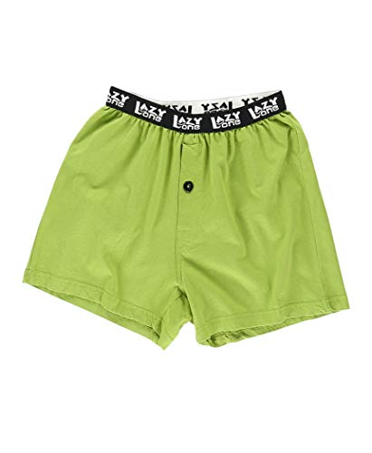 Beware of Natural Gas Boys Funny Animal Boxers by LazyOne | Kids Comical Underwear (Medium)
