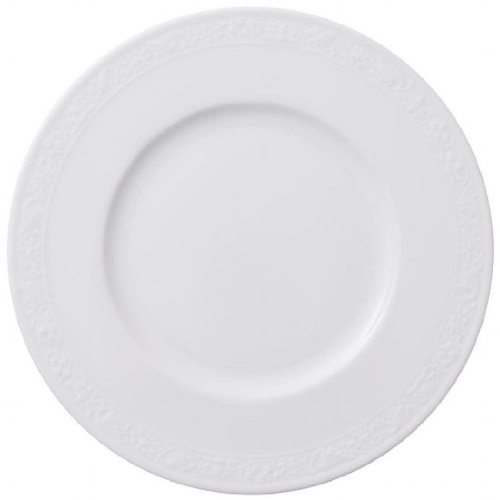 Villeroy and Boch White Pearl Tea Plate 18cm