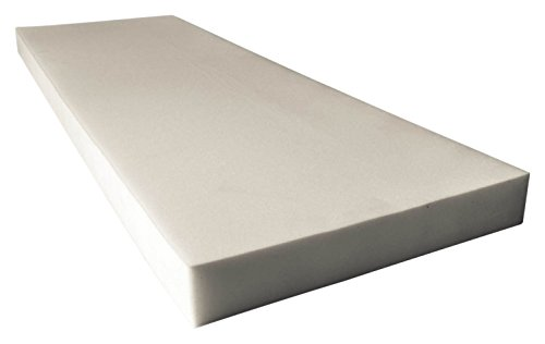 Mybecca Upholstery Foam Cushion Density Seat Replacement, Upholstery Sheet, Foam Padding (2x24x72)