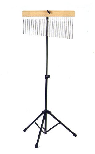 WB-01 Pro Chrome Percussion 25 Bar Chimes with Mounting Stand