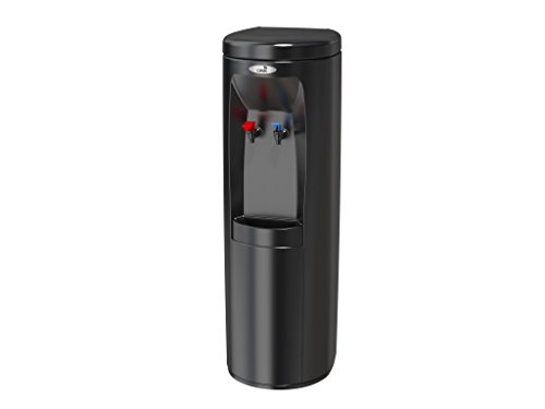 Bottleless Water Cooler Dispenser (w/ 5 Stage EZ Change Reverse Osmosis Filtration Sy, Hot And Cold Black)