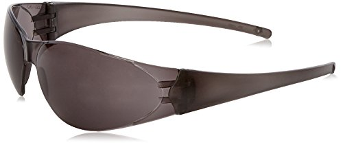 MCR Safety CK112 Checkmate Safety Glasses with Clear Polycarbonate Frame and Grey Lens