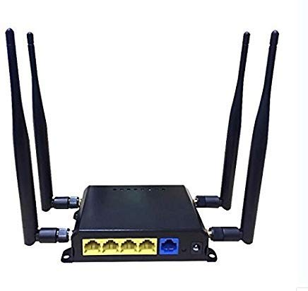 SMFR 3G 4G SIM Card Car WiFi Router 300Mbps with 45 dBi Antenna Enhance Wireless Router Signal Repeater