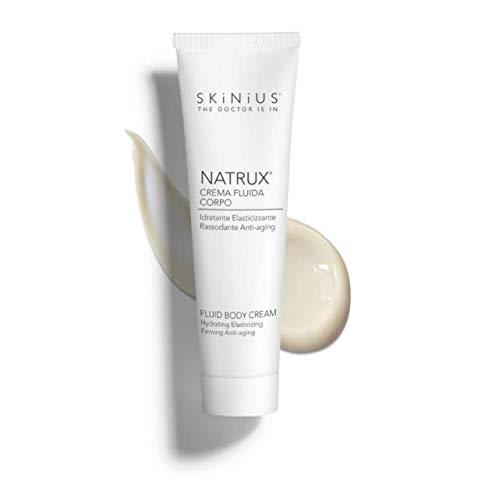 Skinius - NATRUX Crema Gambe e Corpo, Antiage, Idratante e Rassodante con Fospidina, per un'Idratazione Ottimale, 100 ml