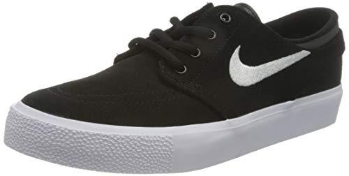 Nike Stefan Janoski (GS) Skateboardschuhe, Schwarz (Blackwhitegum Med Brown 021), 37.5 EU
