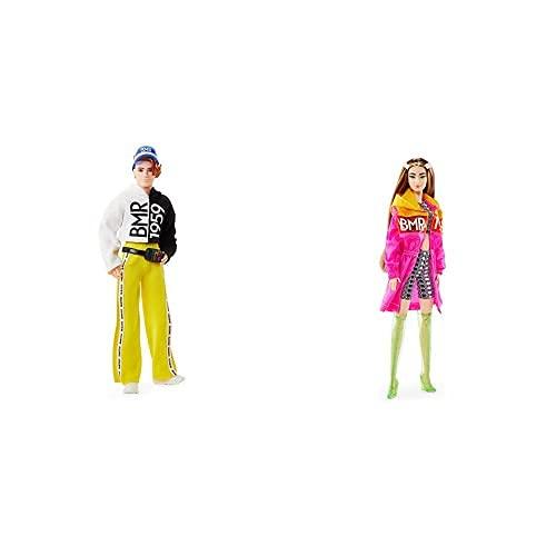 Barbie Muñeca Bmr 1959 (Mattel Gnc49)+ Muñeca Bmr 1959 (Mattel Gnc47)