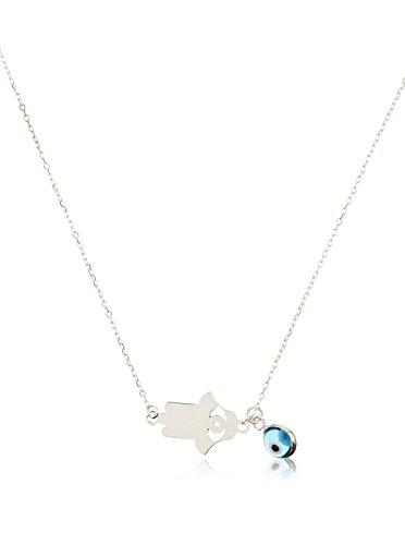 Córdoba Jewels | Gargantilla en Plata de Ley 925. Diseño Mano de Fátima Ojo Turco