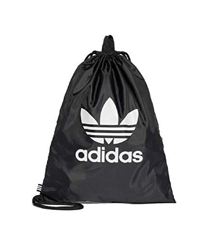 Adidas Trefoil Gymbag Gymsack Turnbeutel (one size, black)