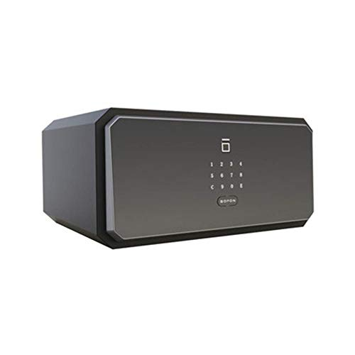 Serratura della tastiera della scatola sicura Home Safe antifurto Cassaforte Mini impronte digitali password di sicurezza armadio invisibile nel muro Ufficio tutto acciaio comodino intelligente Casset